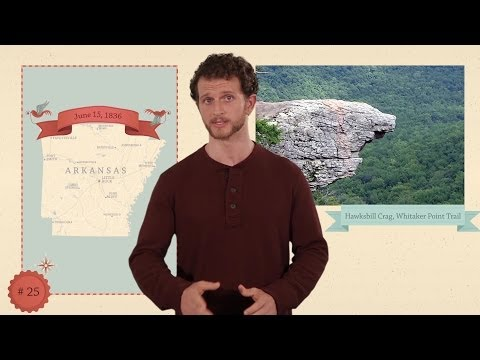 Arkansas - 50 States - US Geography