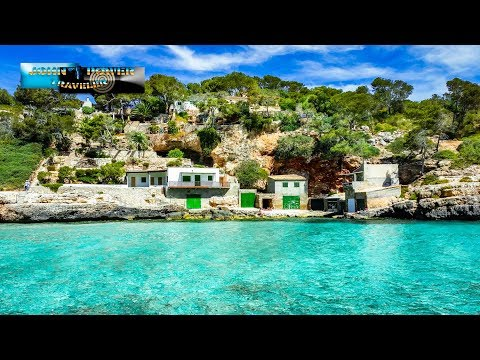 Mallorca beach Cala Llombards 4K Resolution Holiday