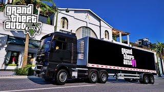 KIND klaut GTA 6 LKW! 😱 - GTA 5 Mod