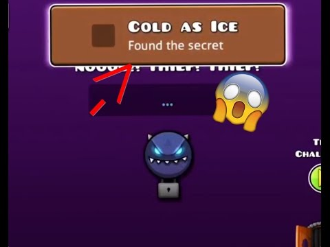 "HOW TO GET ""Cold As Ice"" ACHEIVMENT IN GEOMETRY DASH WORLD!"
