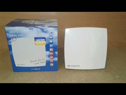 Обзор вытяжного вентилятора Vents 100 LD. Обзор из коробки и тест.
