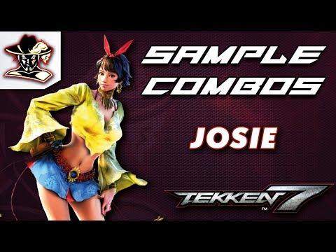 Tekken 7: Josie - Staple Combos