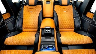 Mercedes Maybach G650 Landaulet Interior New Mercedes G Class 2017 Interior Carjam Tv Hd