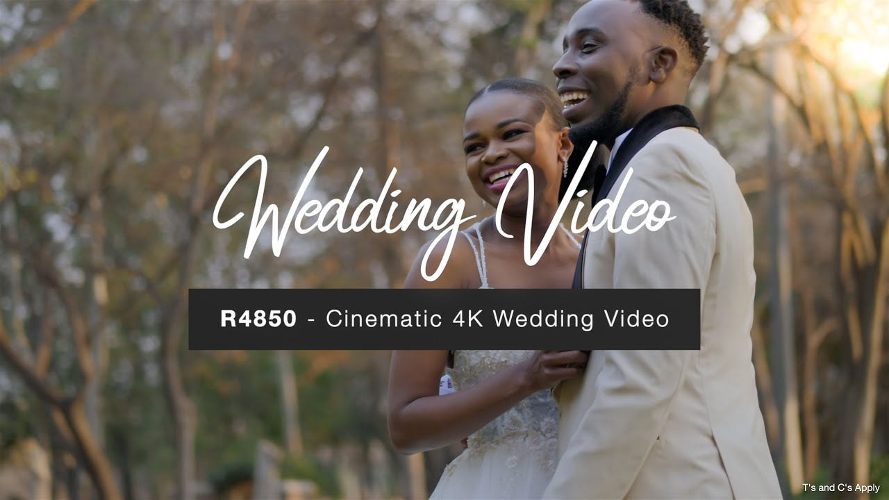Wedding Videography SPECIAL - August 2020