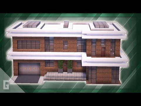 minecraft:-large-wooden-modern-house!-(#45)