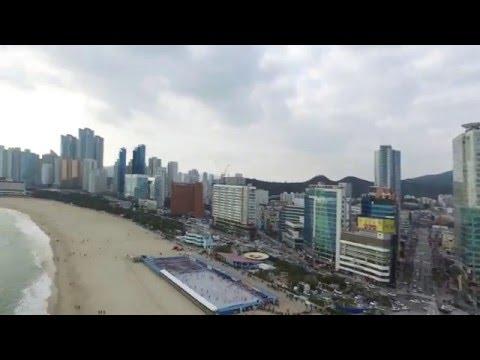 Busan Haeundae, South Korea (1 Of 2) - Drone Aerial Movie By KUN