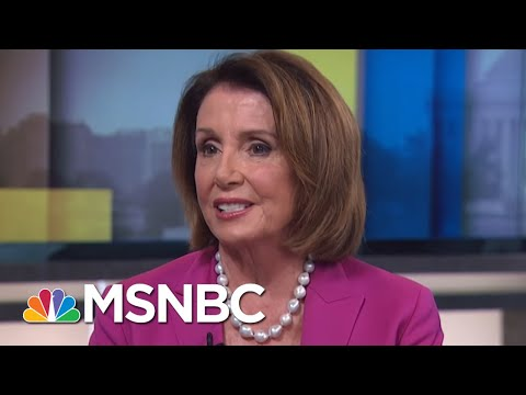 Part II: One-On-One With House Leader Nancy Pelosi | AM Joy | MSNBC