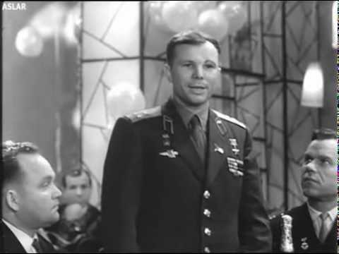 ЮРИЙ АЛЕКСЕЕВИЧ ГАГАРИН — Новогодний тост (1963)