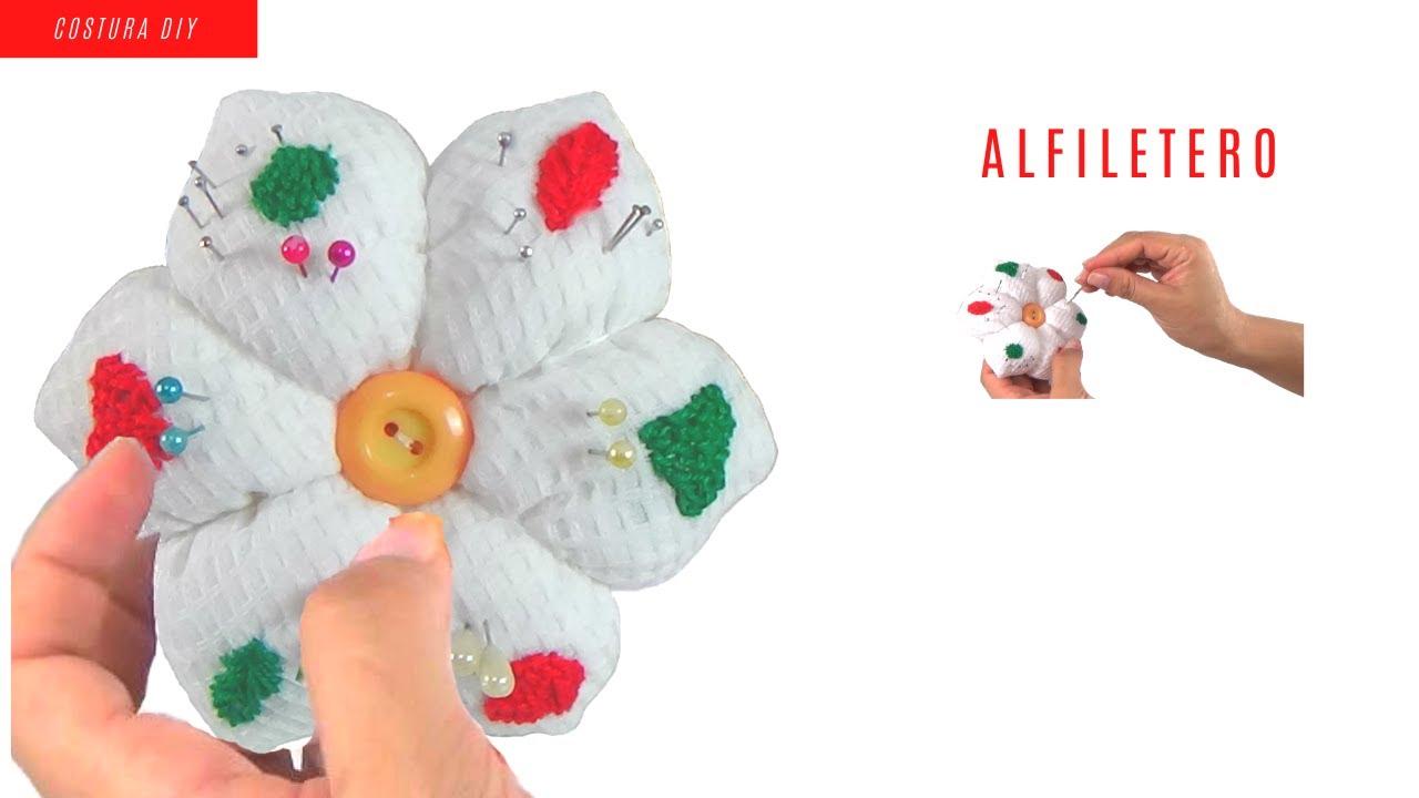 Alfiletero  Flor Exagonal