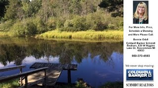 2353 CONTOUR DR, Roscommon, MI Presented by Bonnie Odell.