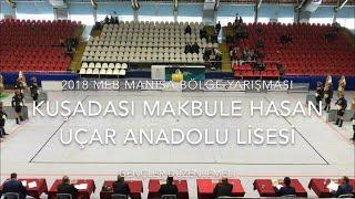 Kuşadası Makbule Hasan Uçar AL | Gençler Düzenlemeli | 2018 MEB Manisa Bölge #Zeybekoloji