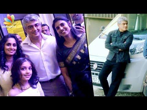 Thala Ajith & family meet Actress Kasthuri after Vivegam shoot | Latest Tamil Cinema News