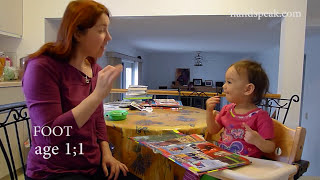 From cooing and babbling to utterance in American Sign Language