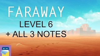 Faraway: Puzzle Escape: Level 6 Walkthrough + All 3 Letters / Notes (by Mousecity & Pine Studio)