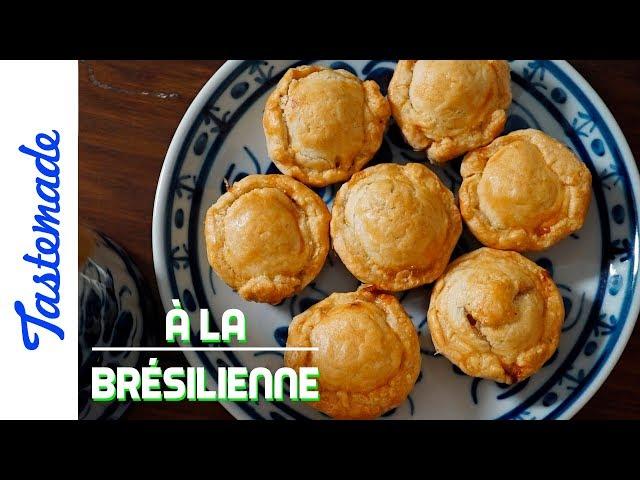 Mini tarte, empadinhas - À la brésilienne