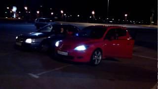Mazda 3 Бассмагаз. г.Владимир. Балуемся громким фронтом