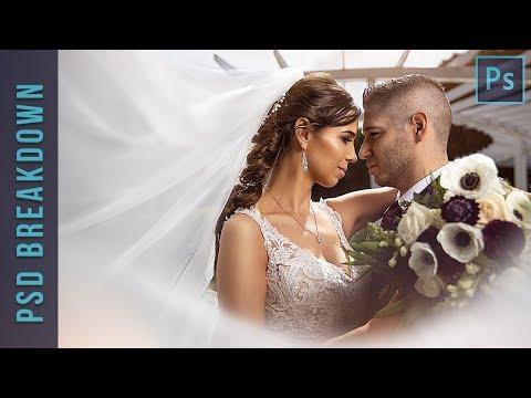 Awesome Wedding Photo Edit - Photoshop  Breakdown