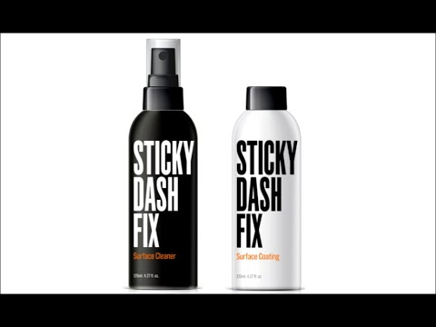 Sticky Dash Fix Full Product Demonstration Video