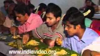 Wedding feast, Sadya, Kerala, Marriage feast