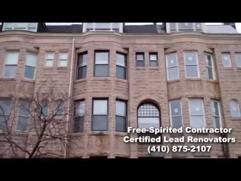 Lead Paint Renovation on an Historic Building in Baltimore, MD