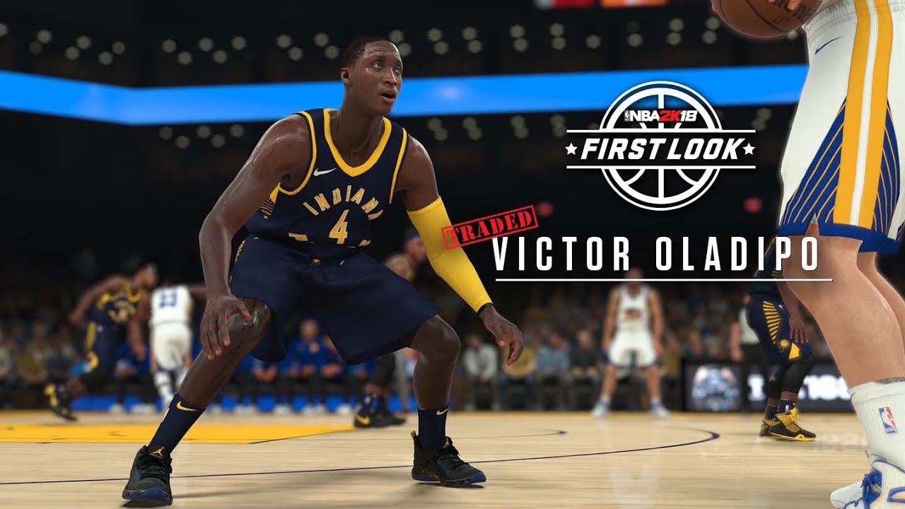 6b79f91f0 NBA 2K18 NIKE JERSEYS! First Look At Indiana Pacers New Uniforms   Victor  Oladipo