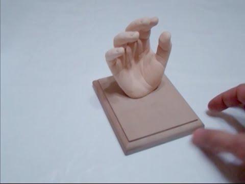 3d слепки рук своими руками