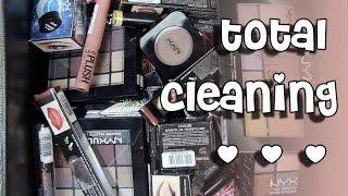 РАЗБОР косметики   total cleaning   только косметика