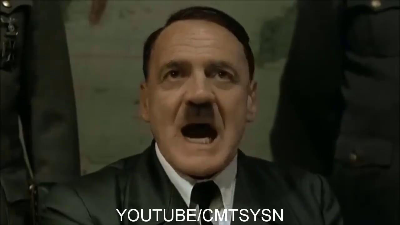 Hitler Hakkımı Helal Etmiyem Komik Dublaj Youtube