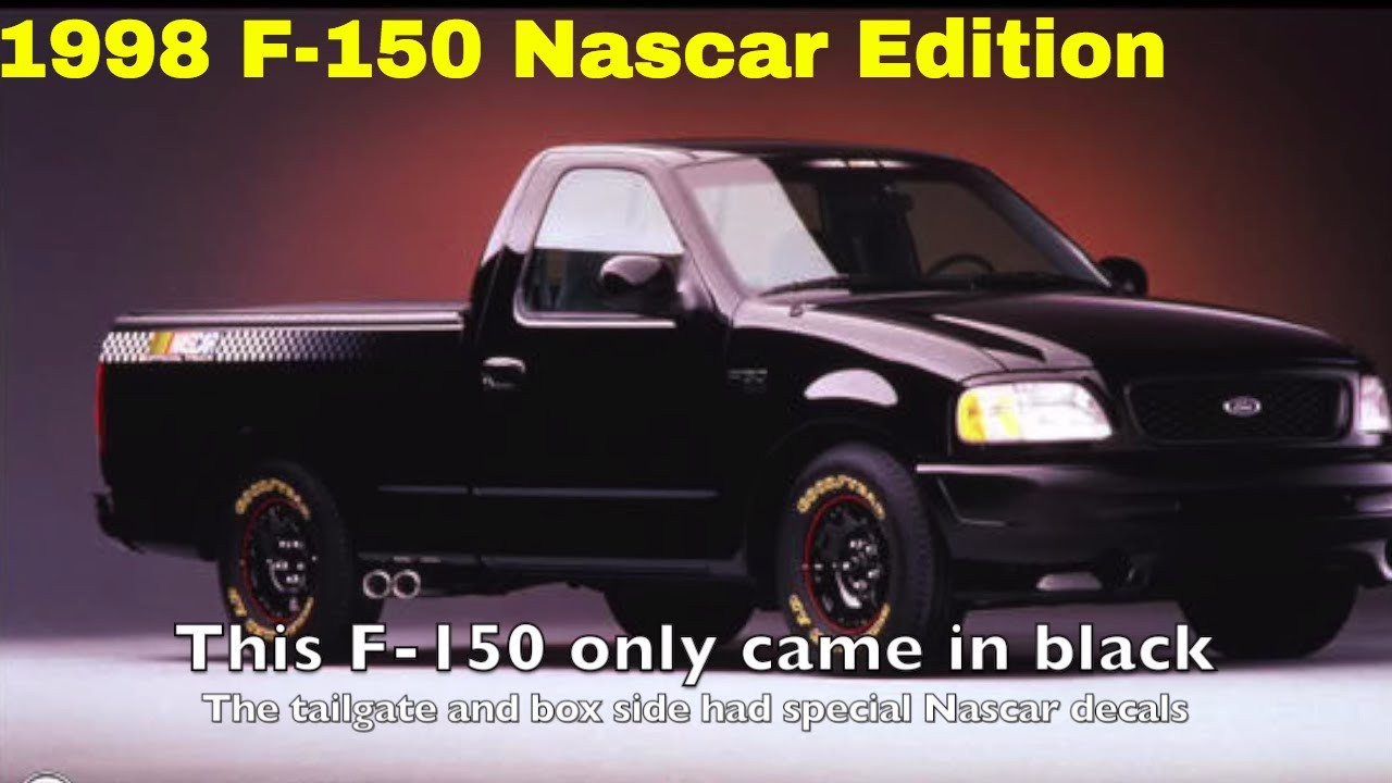 rare trucks pt 1 1998 ford f 150 nascar edition youtube. Black Bedroom Furniture Sets. Home Design Ideas