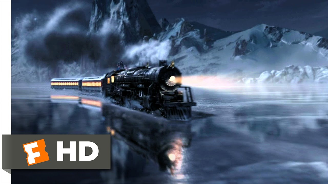 The Polar Express (2004) - Back on Track Scene (2/5) | Movieclips