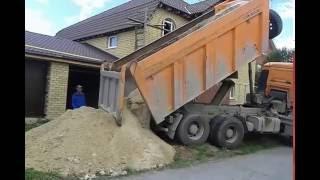 видео Щебень с доставкой Челябинск
