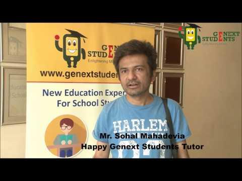 Genext Students Tutor - Sohal Mahadevia Testimonial