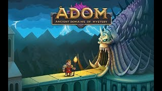 ADOM 2017 Ancient Domains of Mystery Gameplay - In Depth Roguelike Old School Gaming!
