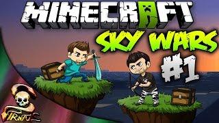 Minecraft | Sky Wars!!! Vaya suerte que he tenido!! Que manco xDD | Stratusferico