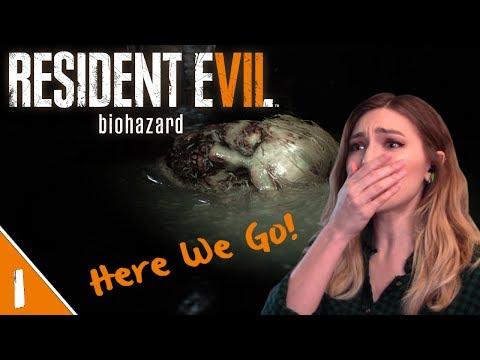 Creepy Mia & Poor Crow Buddies | Resident Evil 7 Pt. 1 | Marz Plays