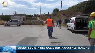 MEDEA, SOCIETA DEL GAS, CEDUTA OGGI ALL' ITALGAS