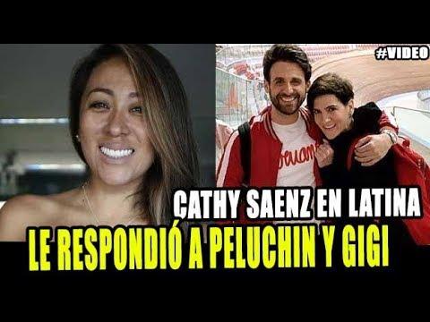 CATHY SAENZ SE PRONUNCIA POR LA SALIDA DE PELUCHIN Y GIGI MITRE DE VALGAME DIOS