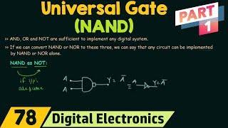 NAND Gate as Universal Gate (Part 1)