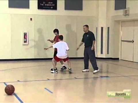 One-on-One Defense, One Pass Away Drill