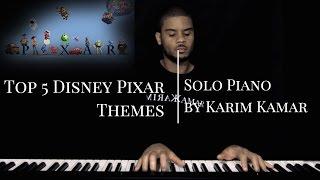 Топ 5 пісень Дісней Піксар/теми (Корпорація монстрів/Історія іграшок/вгору) - фортепіано Попурі