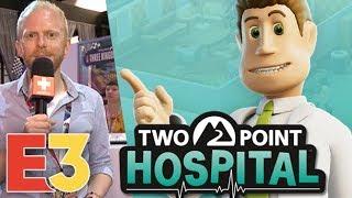 E3 2018 : On a joué à Two Point Hospital, quoi de neuf docteur ?