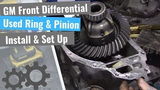 Chevrolet Front Differential Set Up: Reusing Old Gears