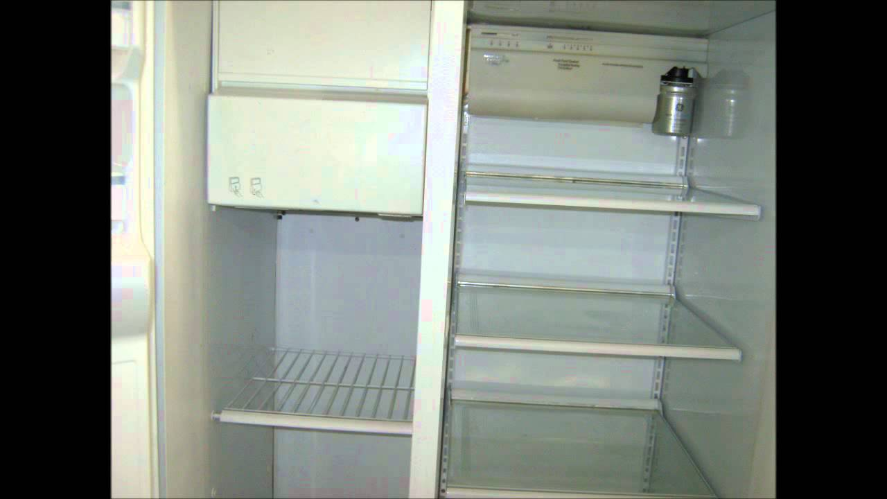 Ge Refrigerator Side By Side Water By Culligan Water