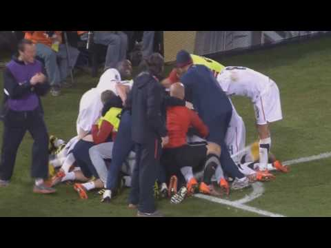 [FIFA World cup 2010] Donovan emotional GOAL! - USA vs Algeria [1-0] HD 1080p