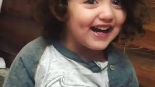 cute baby smile real video