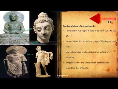 Indian Culture Gandhara Mathura and Amravati School of Art