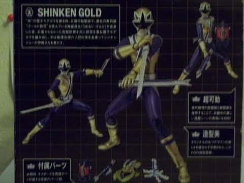Shinkenger Gold - YouTube