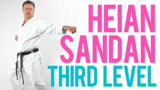 Heian Sandan - Third Level - Shotokan Kata by Sensei Soon Pretorius (Former JKA World Champion)
