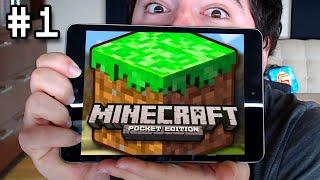 Minecraft Pocket Edition: VILLAGER BEATDOWN - Mini Survival Let's Play Ep. 1