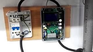 Instalacja fotowoltaiczna do cwu  własnej roboty  sterownik ekopulsar